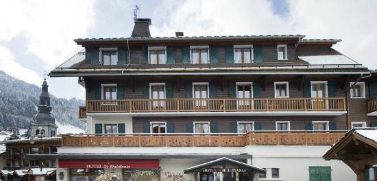 Hotel Christiania: Vue facade