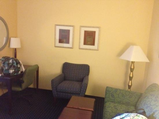 SpringHill Suites Greensboro: Living area