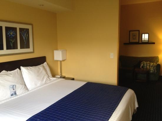 SpringHill Suites Greensboro: Bedroom