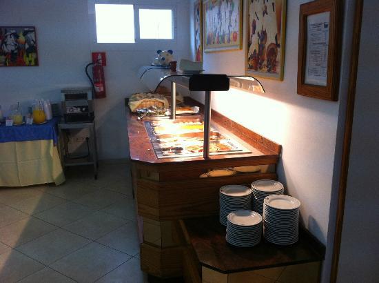 Bellavista Hotel: Buffet