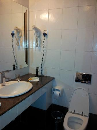Hotel Intercontinental-Addis: bath room - very basic leaky toilet and faucets