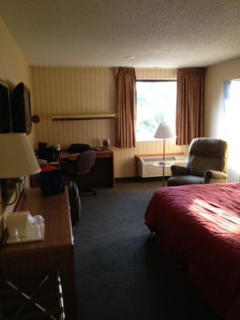 Comfort Inn Plymouth: loved our big spacious room!!