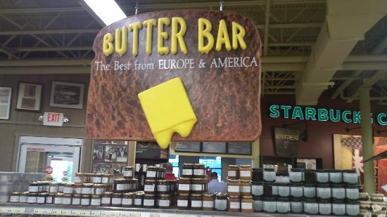 Jungle Jim's International Market: Here a butter, there a butter, everywhere another butter....