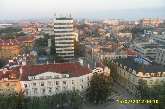 Hotel Bulgaria: vista diurna del dodicesimo piano