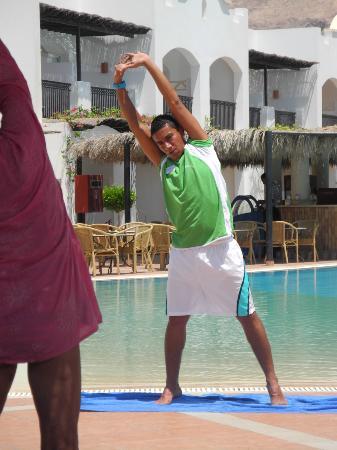 Jaz Dahabeya : Stretching mit Mizo