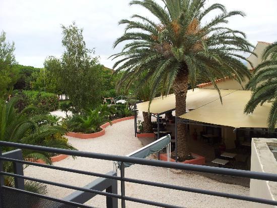 Hotel Spa Las Motas - Vacancéole: Restaurant vue de la terrasse de chambre