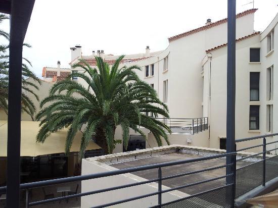 Hotel Spa Las Motas: vue terrasse chambre