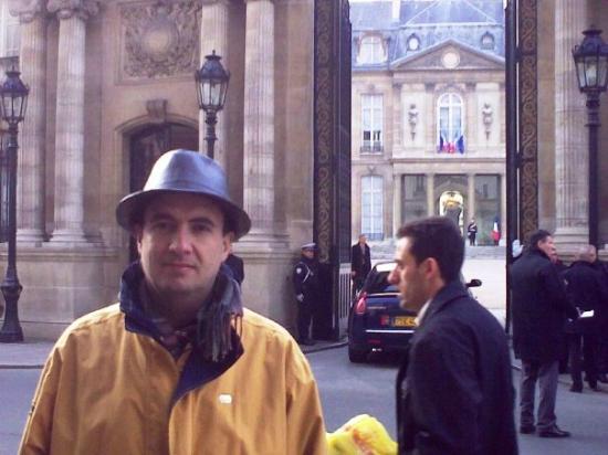 Rue du Faubourg Saint-Honore: Elysee Palace