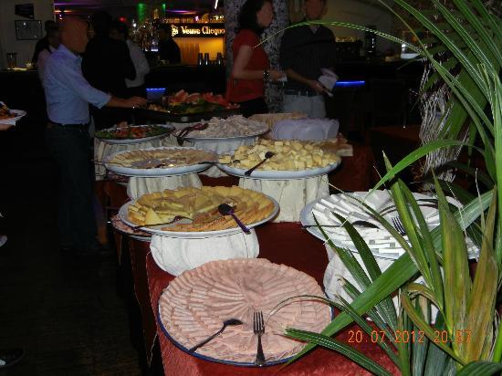 Sio Cafe : Buffet salumi/formaggi