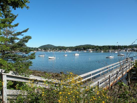 Harbor Ridge: view of Southwest Harbor 