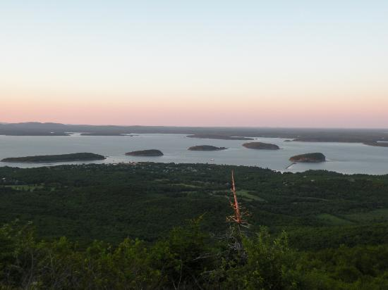 Harbor Ridge: view on top of Cadillac Mountain