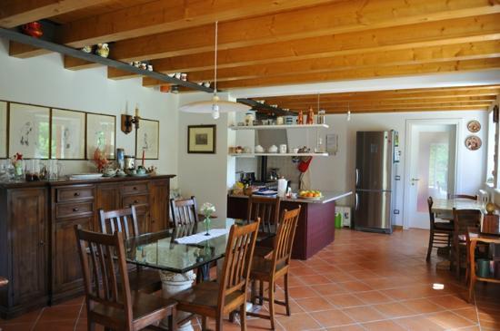 Lemire Azienda Agricola: cucina in comune