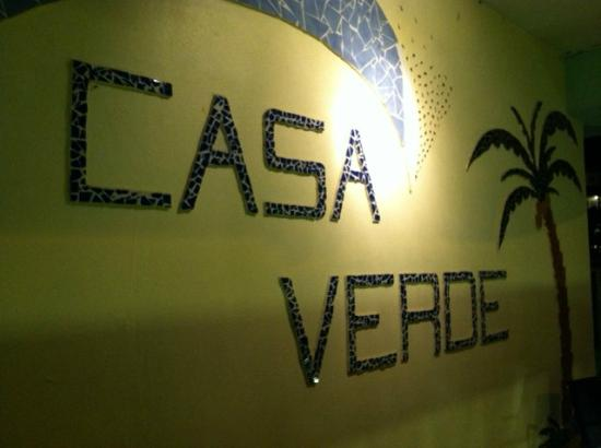 Casa Verde Hotel: Right outside of our room