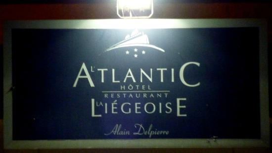 La Liégeoise-Atlantic : Une belle assiette...un service perfectible