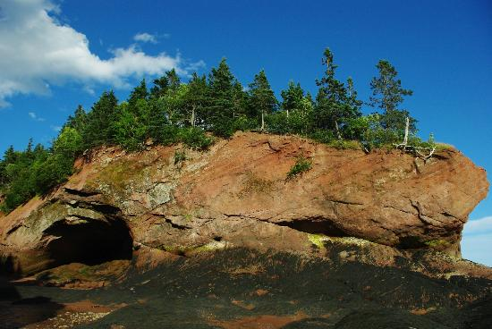 St. Martins Sea Caves : View from the beach