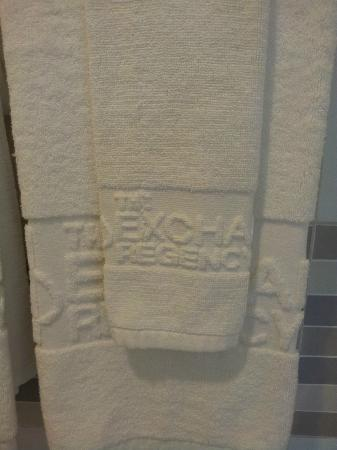 The Exchange Regency Residence Hotel: Fluffy Towel