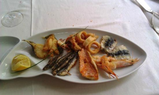 Hotel Milan: Frittura di pesce