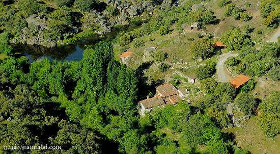 Molino de Gamusinos: vista aeréa