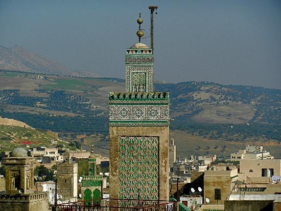 Hotel Bab Boujloud: View of Medina Kadeema from the Terrace
