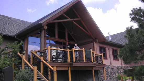Lookout Mountain Nature Center: Love this porch/deck!