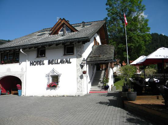 Hotel Bellaval: From the outside