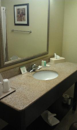 Quality Inn: Bathroom sink