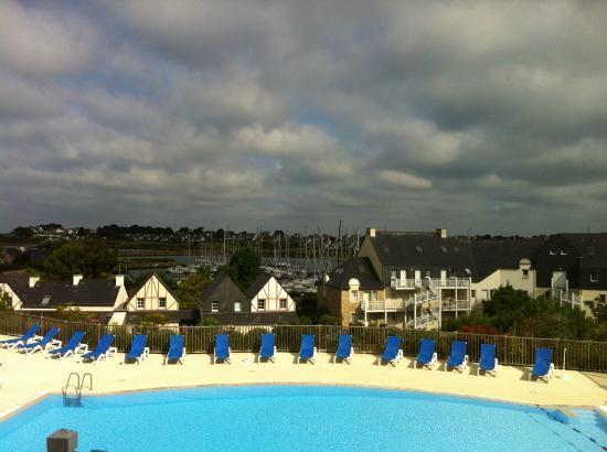 Pierre & Vacances Village Club Port du Crouesty : vue de la terrasse