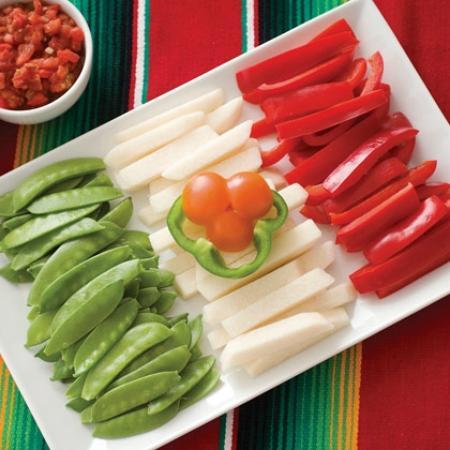 EL Monarca Mexican Restaurant: mexican flag for 5 de mayo