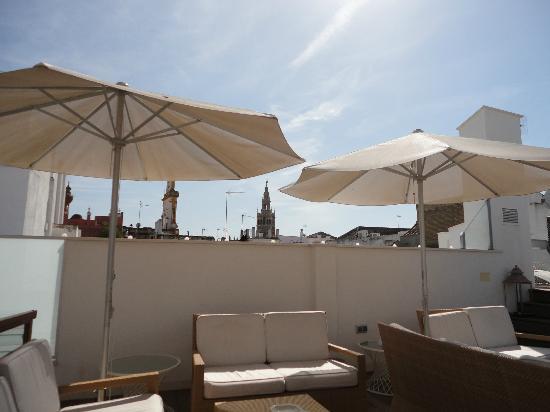 Hotel Amadeus: Roof deck