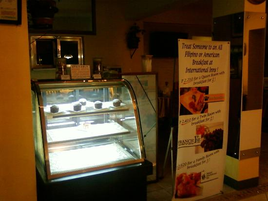Saint Illians Inn : the coffee shop