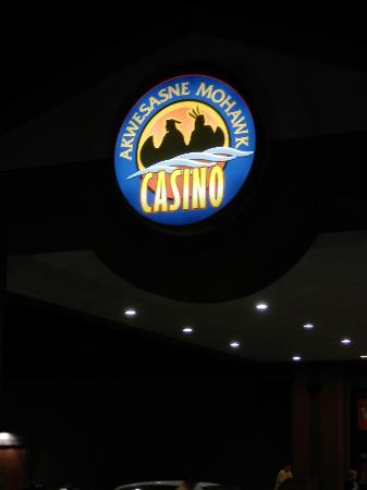 Akwesasne Mohawk Casino: Front Door (Logo) 