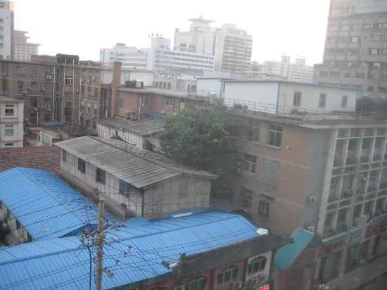 Guan Zhong Hotel Xi'an Nanxin Street: View from 6th floor