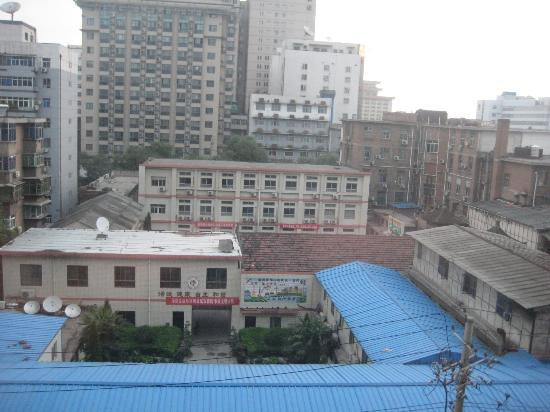 Guan Zhong Hotel Xi'an Nanxin Street: Another perspective of the view