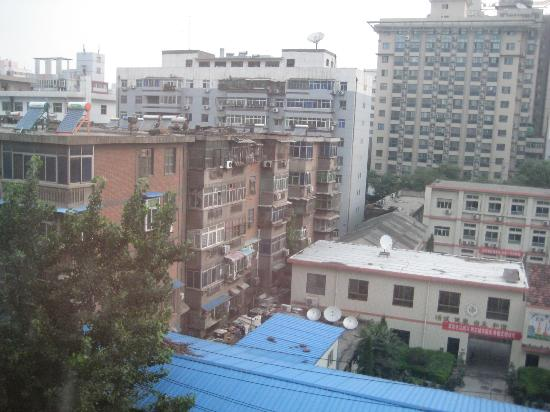 Guan Zhong Hotel Xi'an Nanxin Street: Another angle from the window