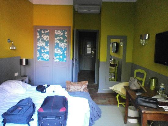 Hotel de la Plage Mahogany: Chambre
