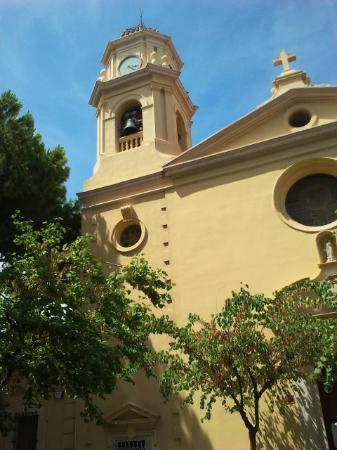 Iglesia Santa Maria del Mar: exterior