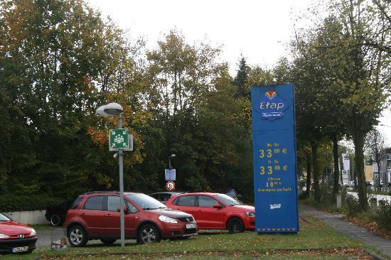 Ibis Budget Lübeck City Sued: Парковка