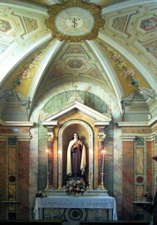 Monte Compatri, Italien: Cappella di S.Teresina (Teresa di Lisieux)