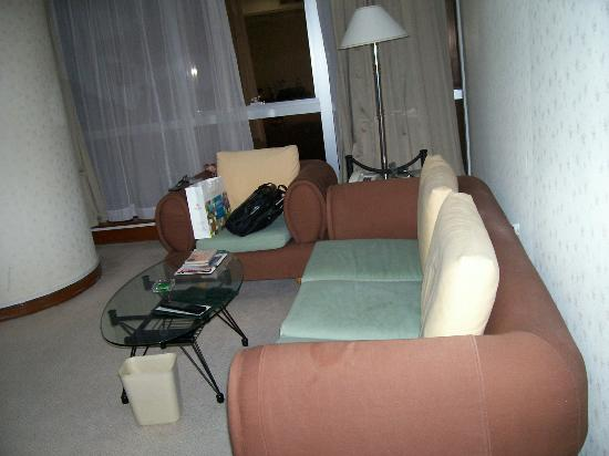 Supreme Tower Hotel : Living room view 2