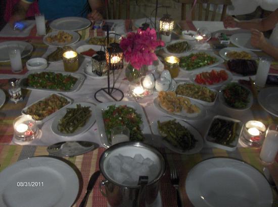Alacati The Hotel: Yemeklerimizi çok beğeneceksiniz