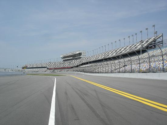 Daytona International Sdway Pic Of Grandstands From The Track