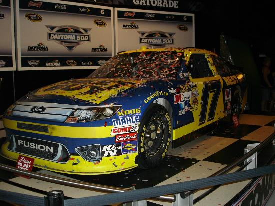2012 daytona 500 winning car picture of daytona international rh tripadvisor com