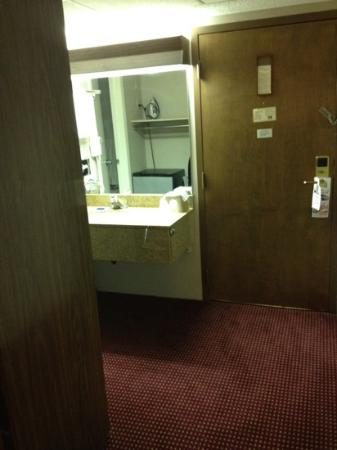 Ramada Columbus Hotel and Conference Center: sink is updated