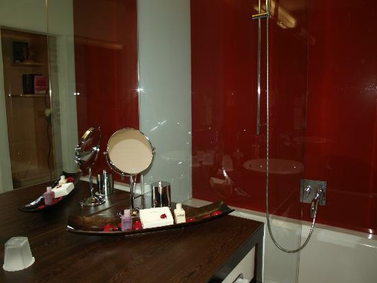 Hotel Rosenvilla: Makeup place