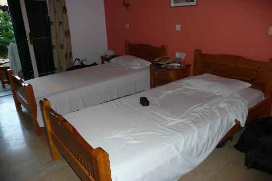 Iliada Beach Hotel : la chambre