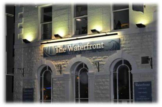 the waterfront restaurant and bar