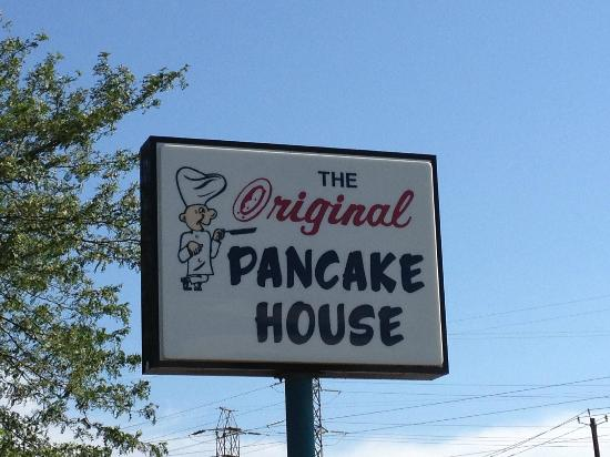 Original Pancake House: The sign