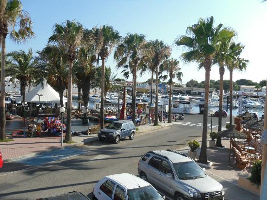 Valentin Star Hotel : The marina - from balcony