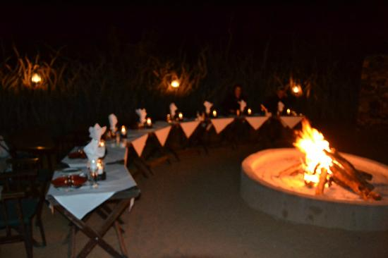 Rhulani Safari Lodge: Dinner!