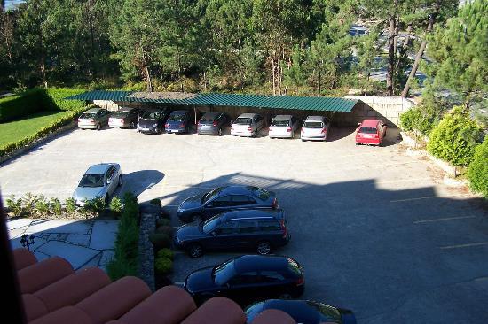 Abeiras: Parking desde habitacion